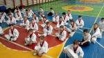 Апрель 2017г. Спарринг  группы начальная подготовка в 110 школе