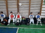Март 2018г.Сспарринги среди спортсменов второго года обучения